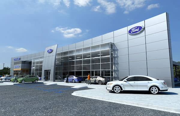 Dealer Ford Geudong