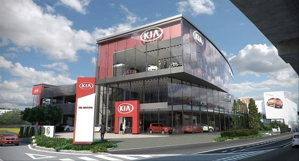 Dealer KIA Ende